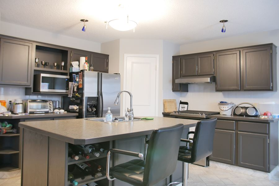 Interior And Cabinet Painting Project, Painting Kitchen Cabinets Calgary